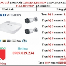TRỌN BỘ CAMERA DAHUA 2.0MP FULL HD